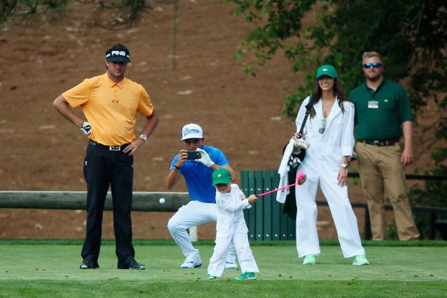 The Par-3 contest at The Masters is almost unwatchable