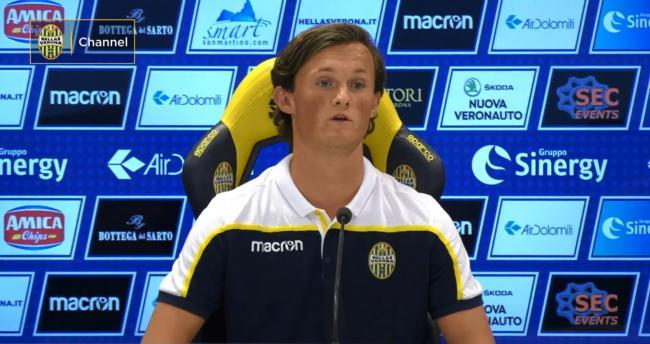 Liam Henderson is currently on loan at Empoli from Hellas Verona