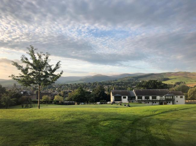 Peebles Golf Club, like facilities throughout Scotland, is facing up to the harsh realities brought on by the coronavirus