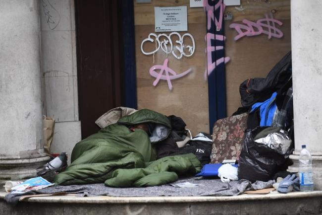 Support has been given to rough sleepers to support them during the lockdown