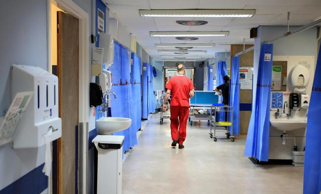 Embargoed to 0001 Tuesday December 20..File photo dated 03/10/14 of a hospital ward, as Brexit could help improve NHS patient safety if the health service can continue hiring European staff and if the Government takes advantage of an opportunity to introd