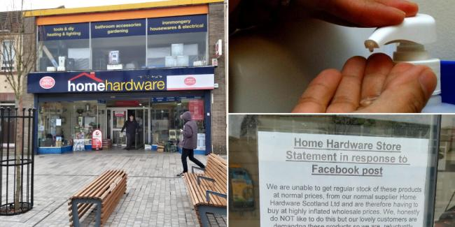 Hardware store expelled from brand after hiking prices of hand sanitiser during coronavirus pandemic