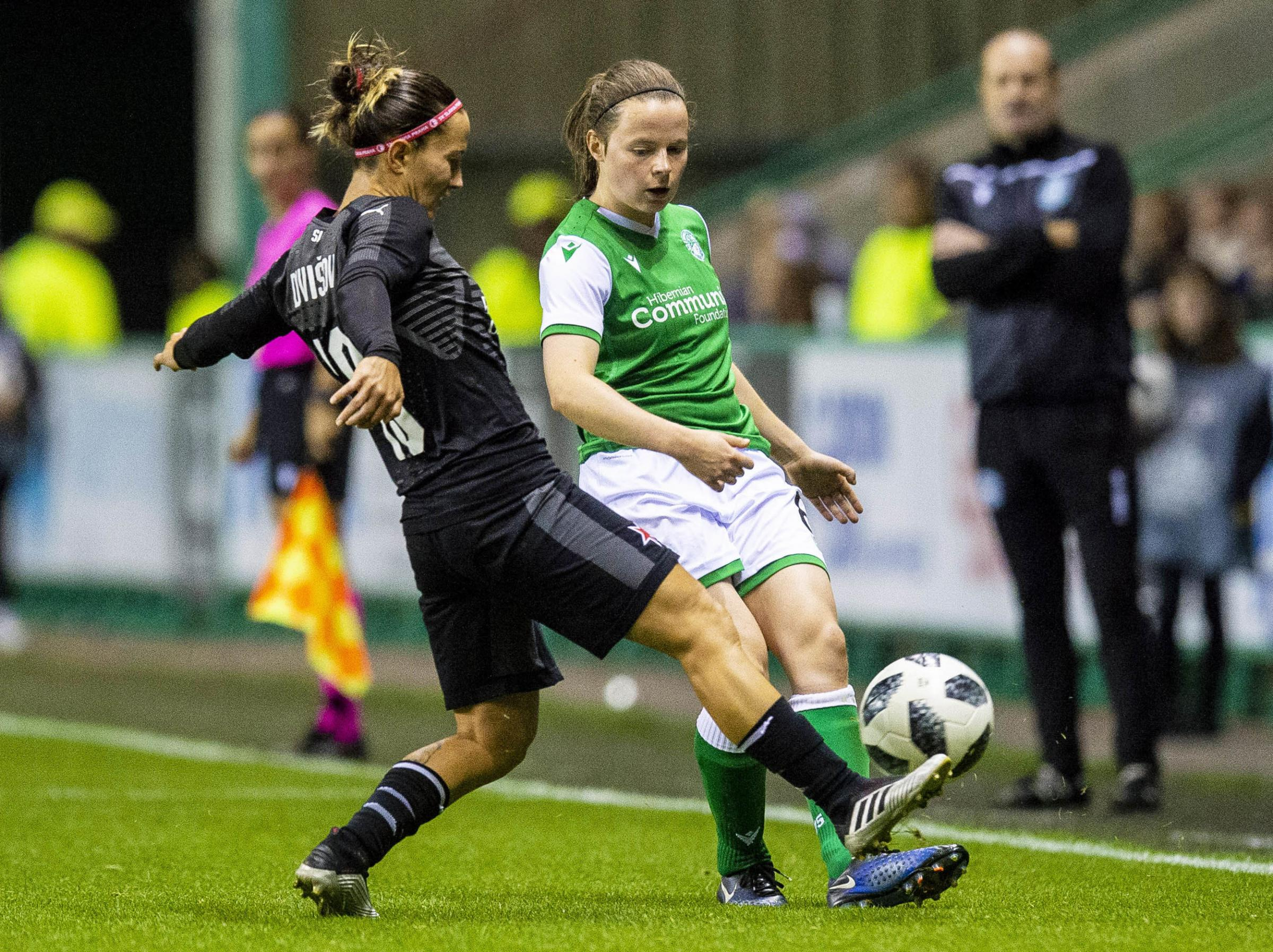 Defender Cailin Michie hoping to come in from the cold after swopping Hibs for Sweden