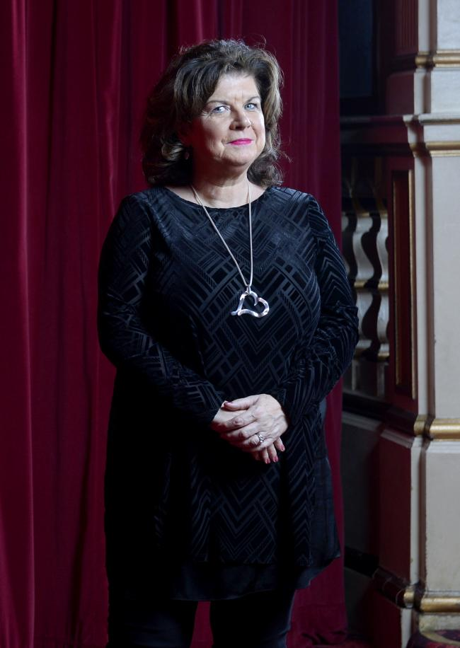 Gruff voice: Elaine C Smith