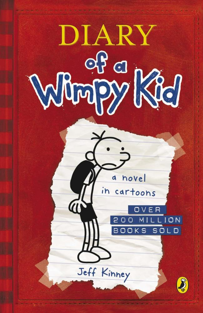 Young adult book review: Diary Of A Wimpy Kid by Jeff Kinney
