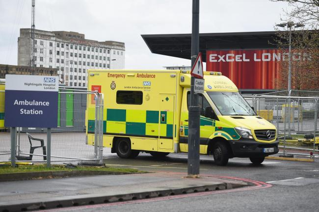 Coronavirus: First patients admitted to NHS Nightingale emergency hospital in London