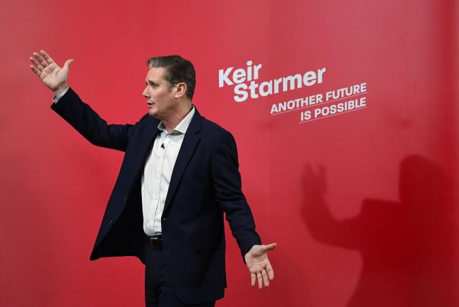 Sir Keir Starmer, pictured during the contest for the Labour leadership. Stefan Rousseau/PA Wire