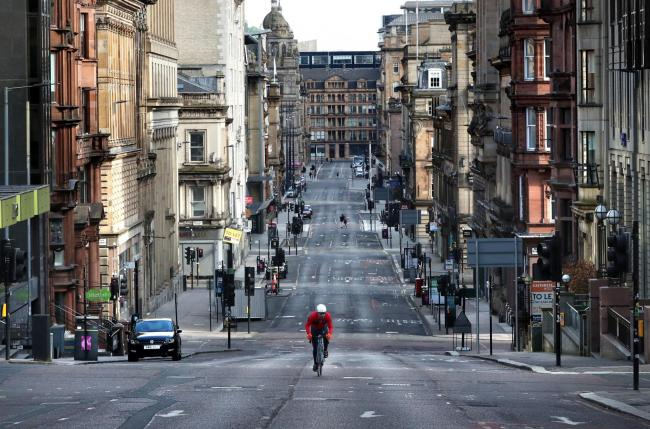 Scottish councils have been handed £10m to provide pop-up cycle lanes and paths