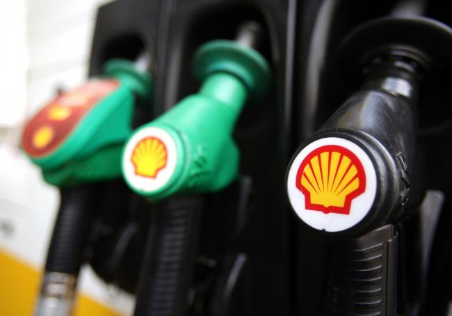 Shell's share price came under pressure