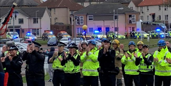 Police admit breaking social distancing rules during Fife NHS tribute event
