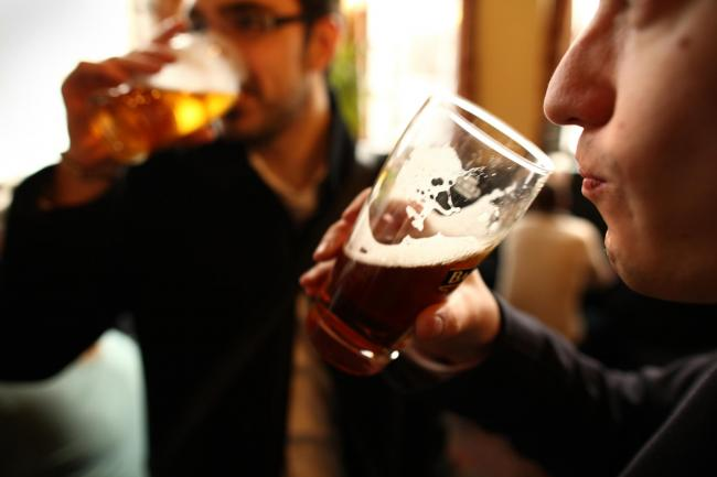 Have recent numbers of people gathering in pubs been a major factor in the increase in Covid-19 cases?