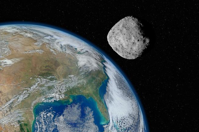 SPACE INVADER: Researchers believe one of the largest asteroid strikes in Earth's history occurred near the Outer Hebrides.