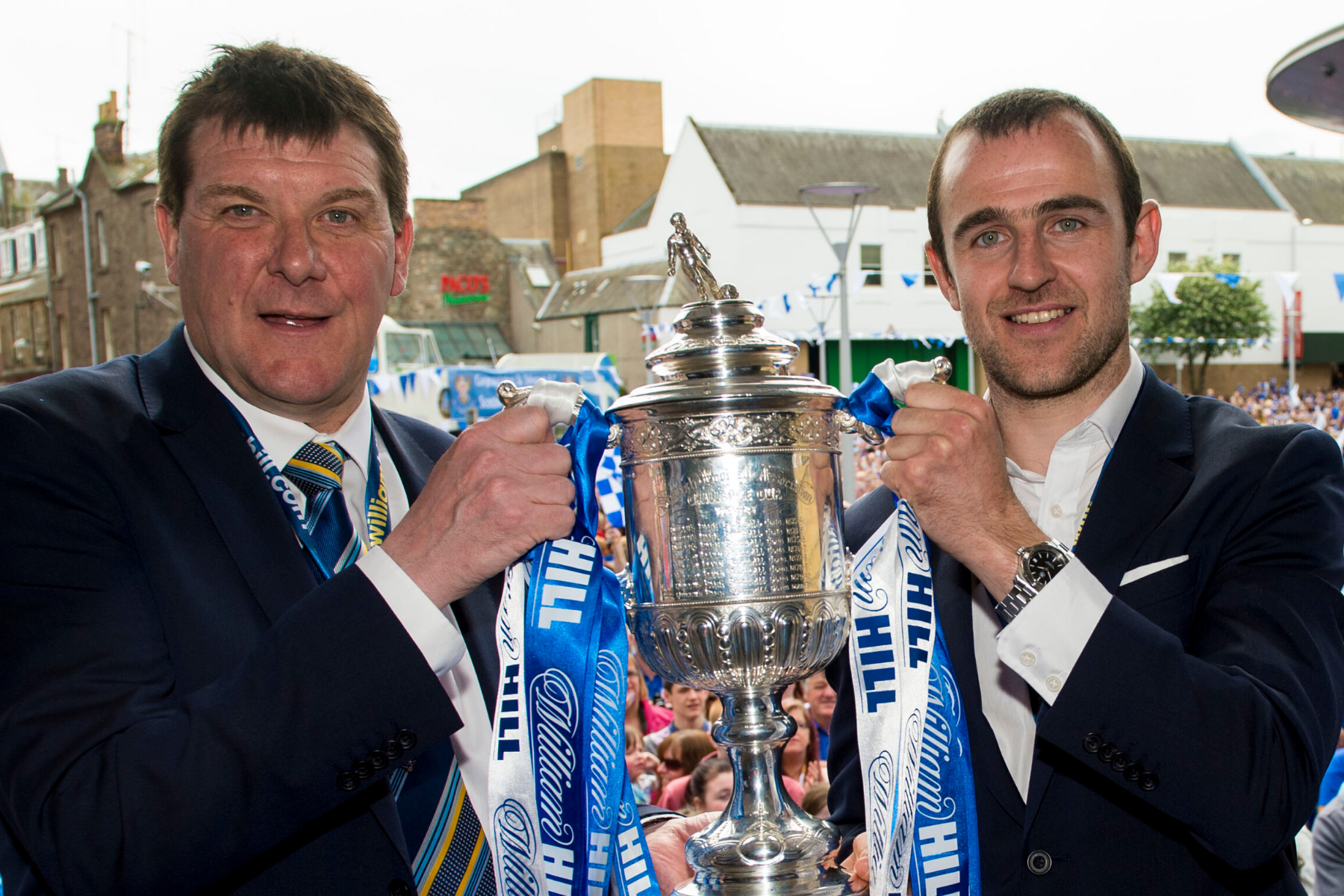 St Johnstone legend Dave Mackay opens up on McDiarmid Park vacancy as he hails Tommy Wright