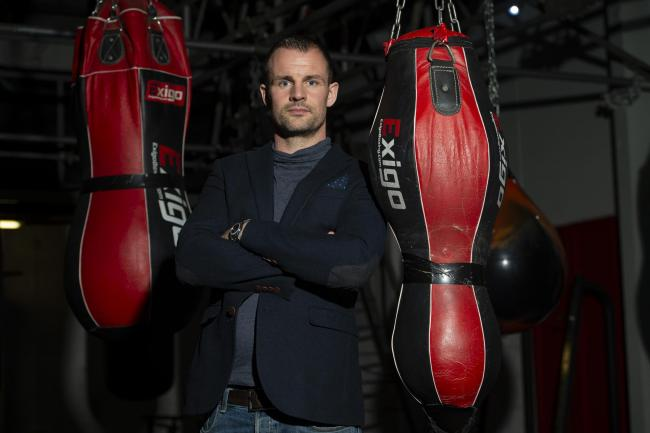 Boxing promoter and gym owner Sam Kynoch