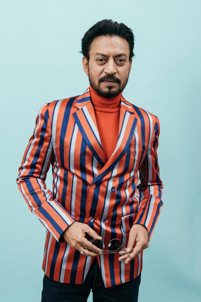 Irrfan Khan, a Bollywood star who found major success in Hollywood. Photo by Neilson Barnard/Getty Images for the Dubai International Film Festival