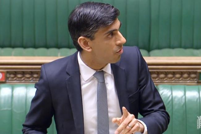 Rishi Sunak faced questions over why employees will be taxed if they receive a covid-19 test from their employer
