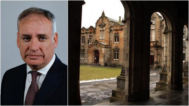 Universities Minister Richard Lochhead