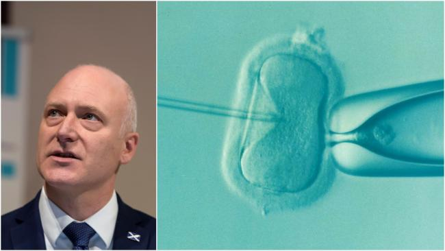 Joe FitzPatrick has announced Scotland's IVF clinics are set to re-open