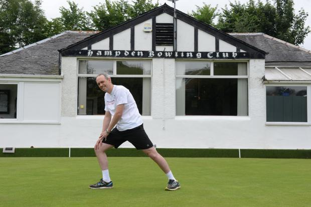 Graeme Brown at Hampden Bowling Club