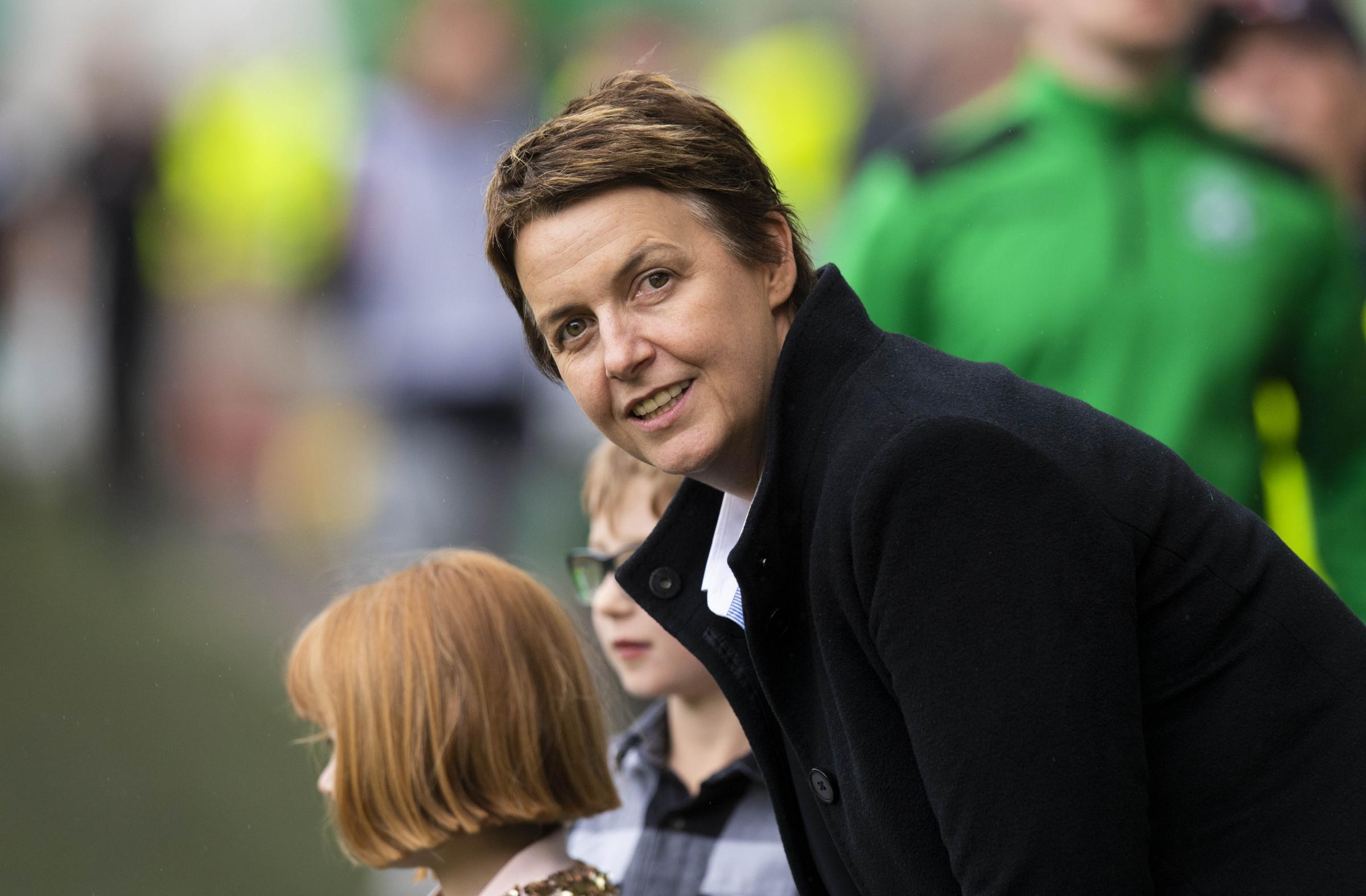 Hibernian chief executive Leeann Dempster issues away fan warning