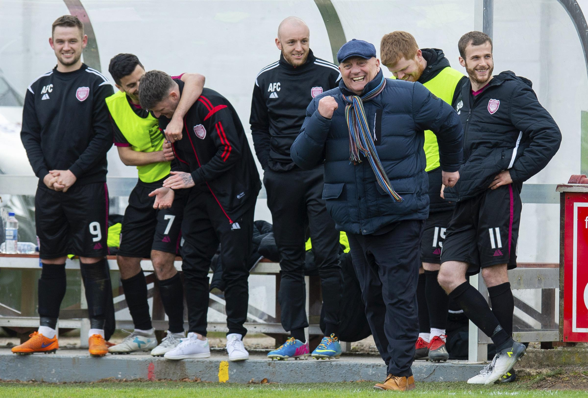 Dick Campbell on the rise and rise of Arbroath