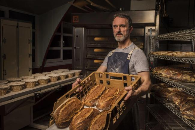 John Castley developed a successful sourdough bakery in Scotland after spending 20 years working in big organisations in Australia