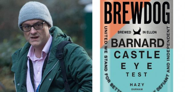 Scottish brewer launches 'Bernard Castle Eye Test' beer with profits helping NHS