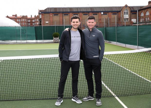 HeraldScotland: Phil, left, and Tom Beahon