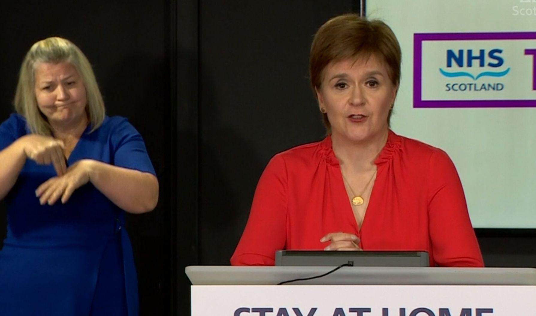Coronavirus: Sturgeon threatens new lockdown laws after mass rule-breaking