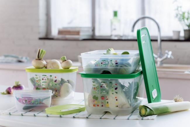 Tupperware, image courtesy of Courtesy of Tupperware Brands Corp.