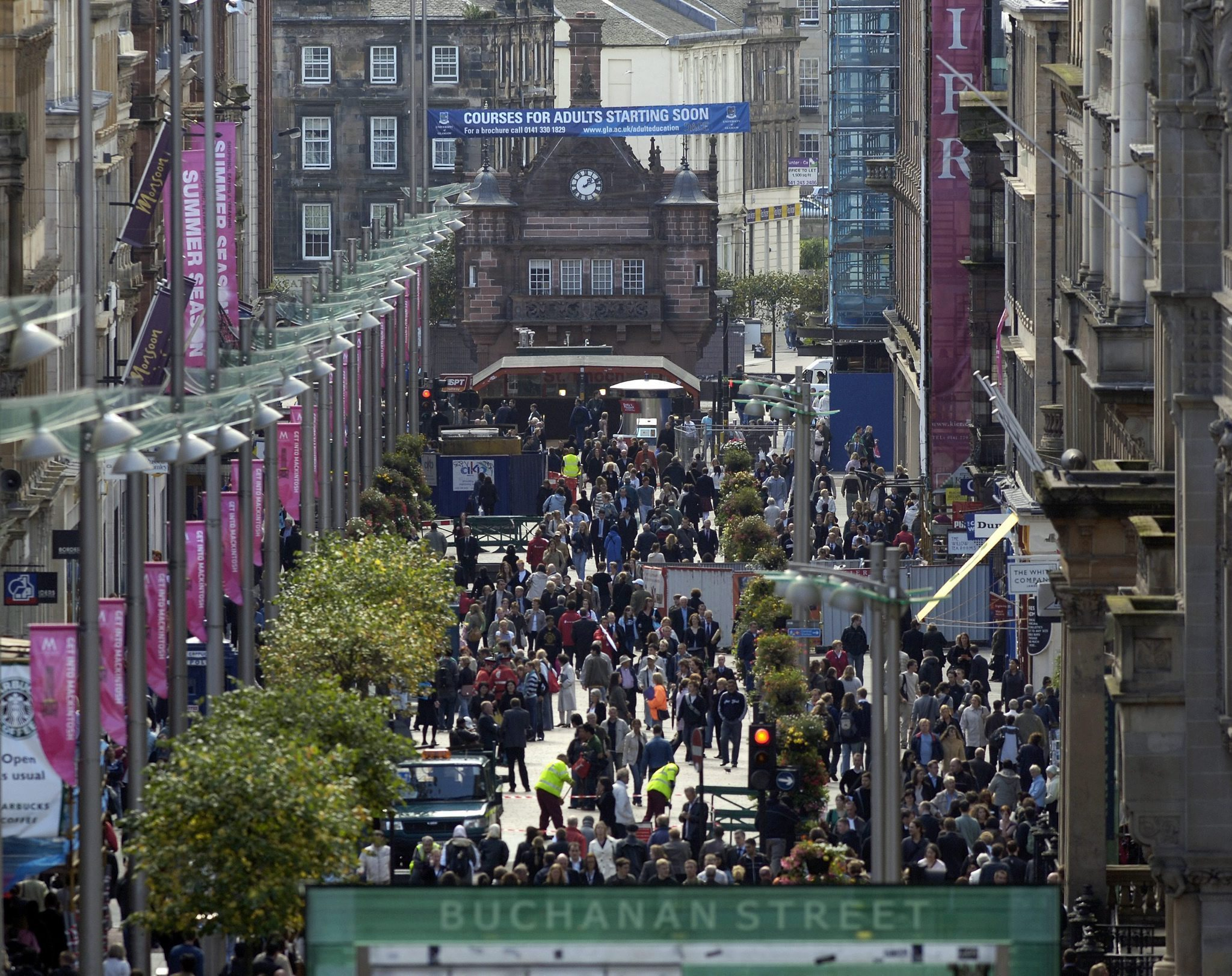 calls for 'George Floyd Street' and Glasgow slave names to be changed