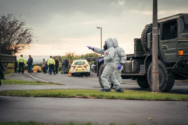 The Salisbury Poisonings looked at the impact of the crime on the local community. Picture: BBC