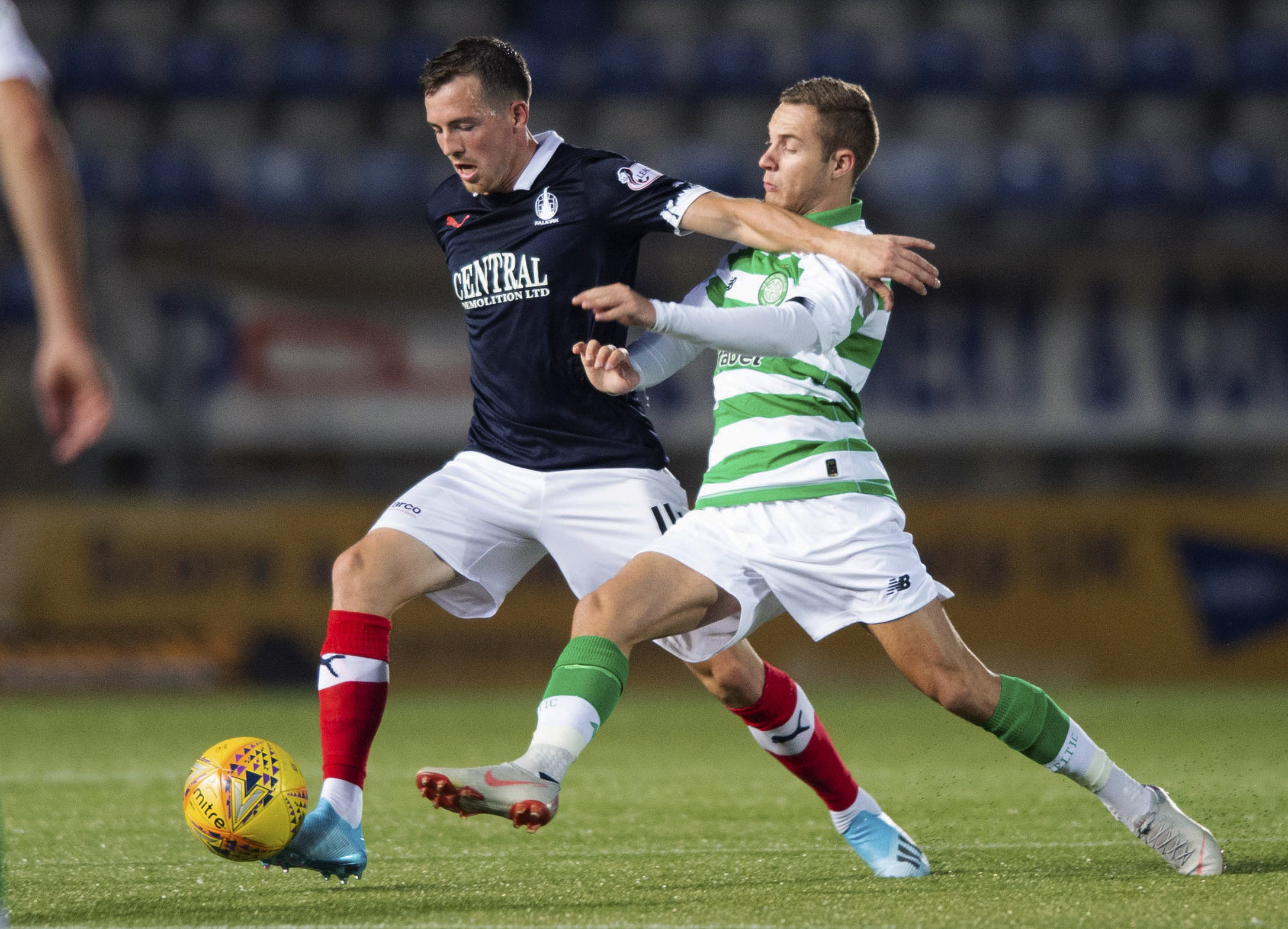 Five set to leave Falkirk as club weigh up new deals for first-team players