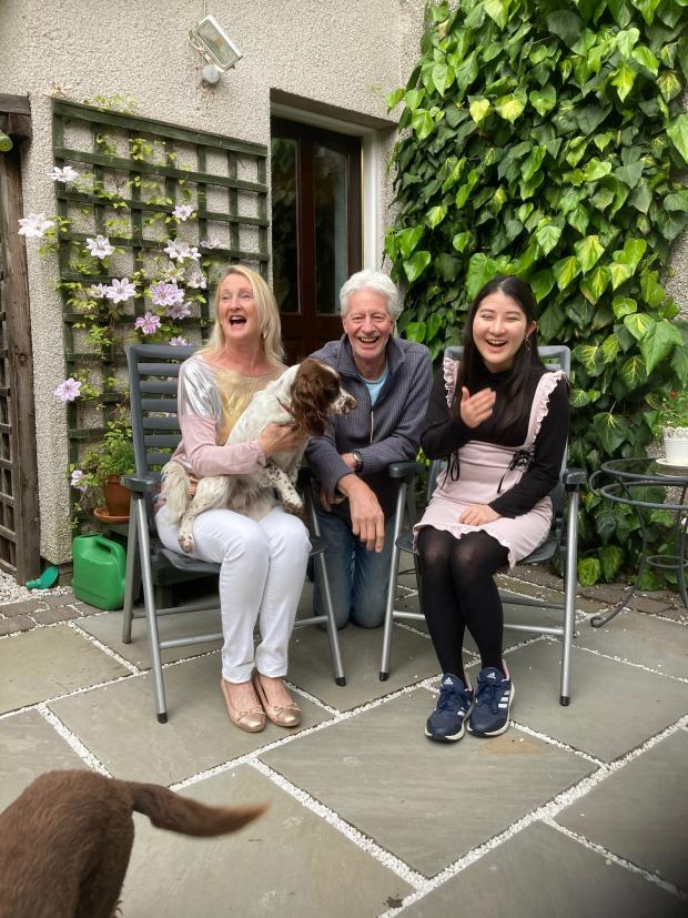 HeraldScotland: Yoko Nakano, 17, a student at Fettes College in Edinburgh, also opted to stay in Scotland rather than travel home to Tokyo. She is now staying with Margaret and Brian Dickson in Dollar, Clackmannanshire.