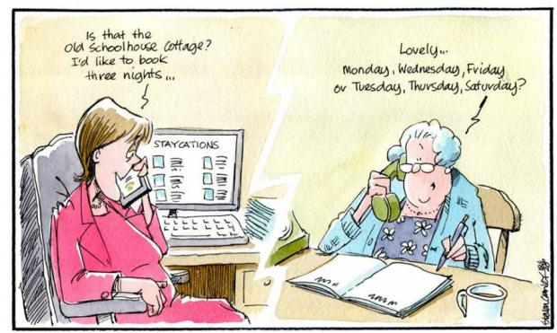 HeraldScotland: Camley's Cartoon: Call on schools reopening plan