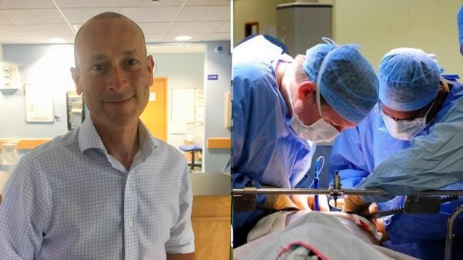 Mr Joe Baines, consultant orthopaedic surgeon and clinical lead at Golden Jubilee Hospital, where elective will restart next week