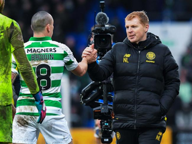 Neil Lennon has already offered Scott Brown a place on the coaching staff at Celtic when his playing career ends.