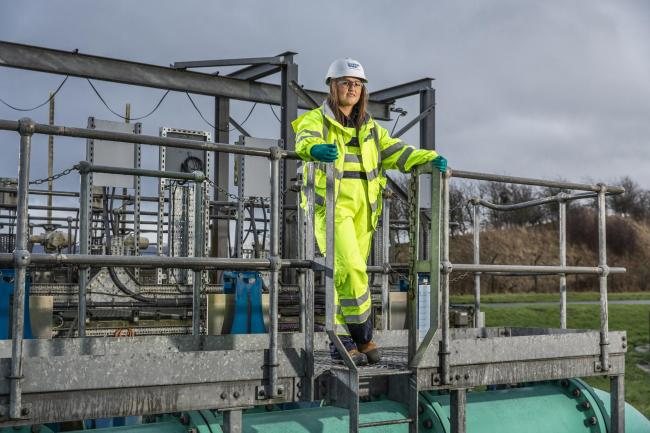 Waste Water Treatment Modern Apprentice at Scottish Water, Ailish Lavelle