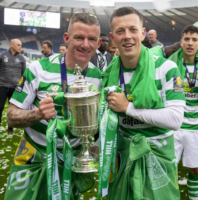 Callum McGregor hails old Celtic team mate Jonny Hayes for agreeing to play for Aberdeen for free