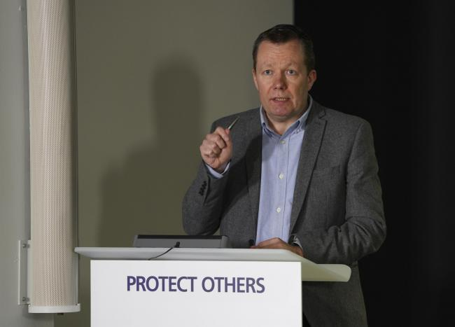 Jason Leitch, Scotland's National Clinical Director