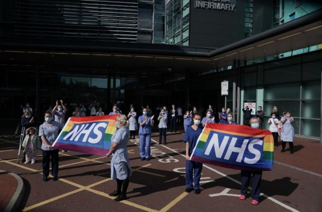 NHS Clap: Thousands pay tribute to NHS staff on the 72nd anniversary of the health service