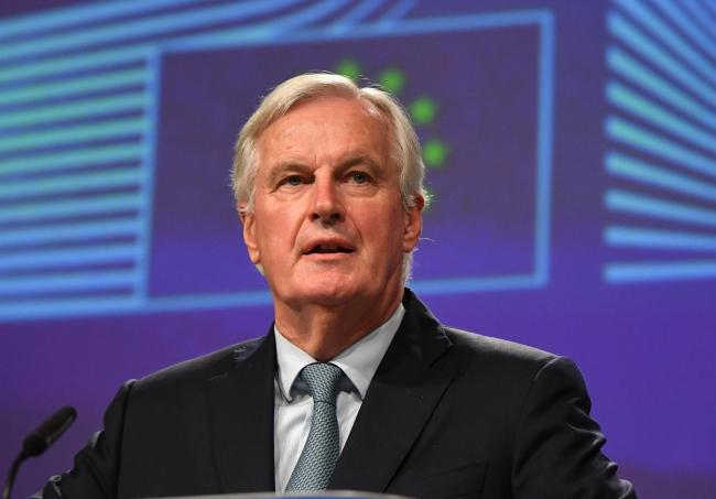 File photo dated 17/10/2019 of Michel Barnier, the EU's Chief Brexit Negotiator, who has told Boris Johnson to stick to his promises as he warned there would not be a trade deal otherwise. PA Photo. Issue date: Sunday May 31, 2020. Barnier appeared to