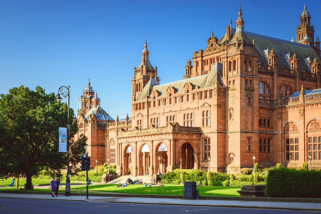 Kelvingrove Art Gallery and Museum is operated by Glasgow Life