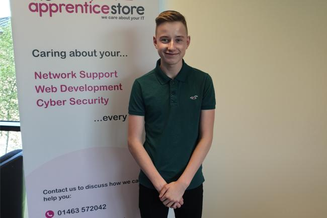 Jordan Whyte, 18, Nairn, has been involved in the programme.