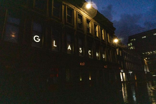 Glaschu is based on Royal Exchange Square