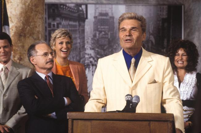Fred Willard in A Mighty Wind. Copyright: © 2003 Castle Rock Entertainment.Copyright: © 2003 Castle Rock Entertainment.