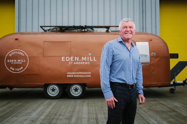 Eden Mill founder Paul Miller is leading the company's work on the development of a new malt whisky distillery in Fife