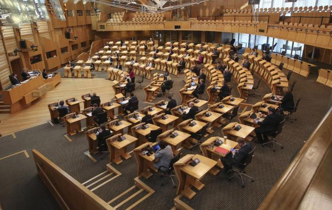 New independence party says its MSPs would be 'bound' to keep SNP in power