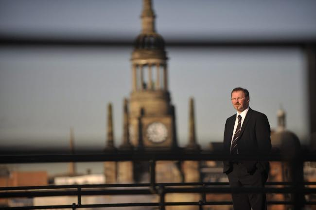 Stuart Patrick, chief executive of Glasgow Chamber of Commerce, said impact of 'differential' approach not yet known. Picture: Jamie Simpson.