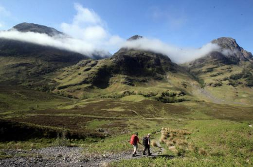 HeraldScotland: Scotland's walks are never complete without the dreaded midge